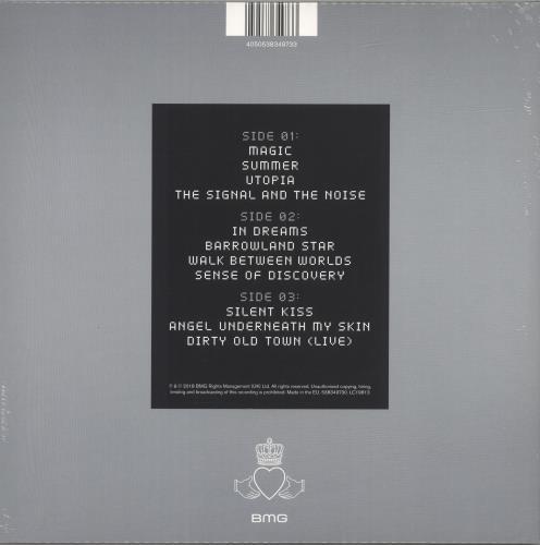 Simple Minds Walk Between Worlds - Pink Vinyl + Sealed 2-LP vinyl record set (Double Album) UK SIM2LWA690374