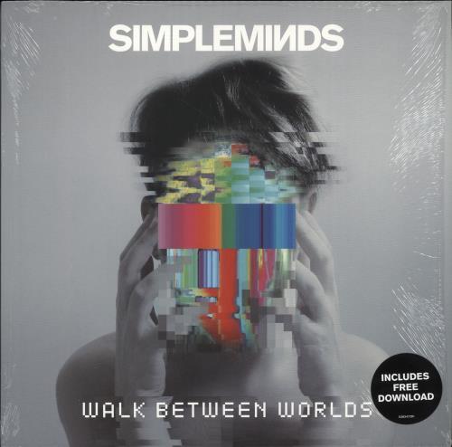 Simple Minds Walk Between Worlds vinyl LP album (LP record) UK SIMLPWA706049