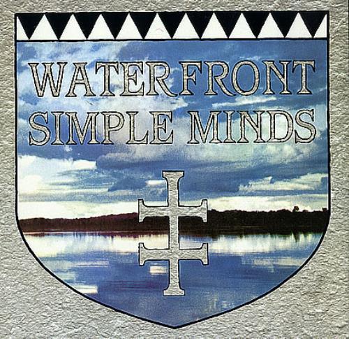 "Simple Minds Waterfront 12"" vinyl single (12 inch record / Maxi-single) UK SIM12WA10065"