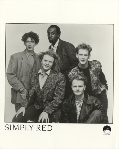 Simply Red A New Flame + Publicity Photo media press pack US REDPPAN456121