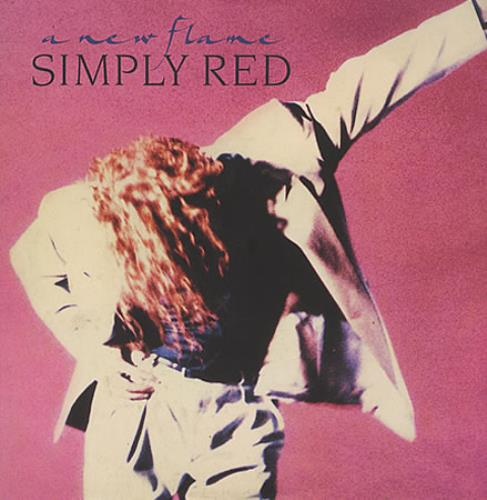 Simply Red A New Flame vinyl LP album (LP record) German REDLPAN401903