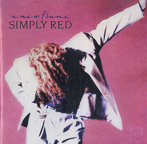 Simply Red A New Flame CD album (CDLP) UK REDCDAN607321