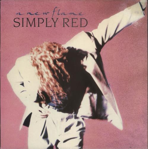 Simply Red A New Flame vinyl LP album (LP record) Australian REDLPAN73723