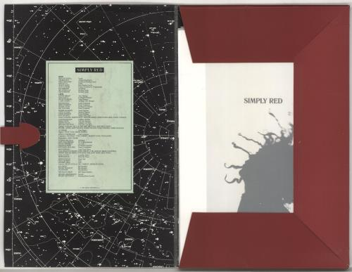 Simply Red A Starry Night tour programme UK REDTRAS720504