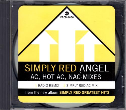 """Simply Red Angel - A.C. Mixes CD single (CD5 / 5"""") US REDC5AN75611"""