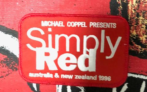 Simply Red Australia & New Zealand Holdall memorabilia Australian REDMMAU711689