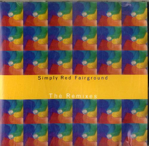 "Simply Red Fairground Remixes CD single (CD5 / 5"") German REDC5FA54289"
