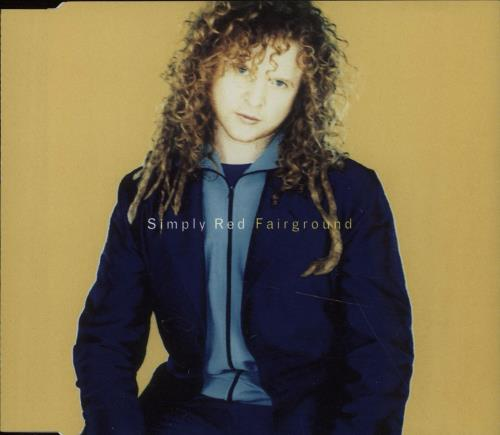 """Simply Red Fairground CD single (CD5 / 5"""") UK REDC5FA51817"""