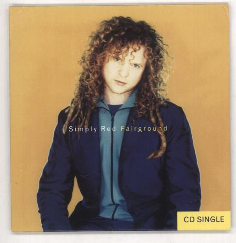 """Simply Red Fairground CD single (CD5 / 5"""") US REDC5FA57656"""