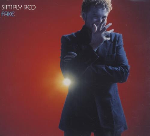 "Simply Red Fake - Part 1 CD single (CD5 / 5"") UK REDC5FA366527"