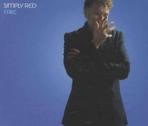 "Simply Red Fake CD single (CD5 / 5"") UK REDC5FA251861"
