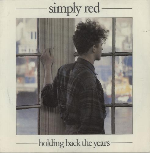 """Simply Red Holding Back The Years - P/S 7"""" vinyl single (7 inch record) UK RED07HO111370"""