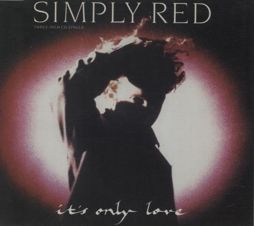 """Simply Red It's Only Love 3"""" CD single (CD3) UK REDC3IT30545"""