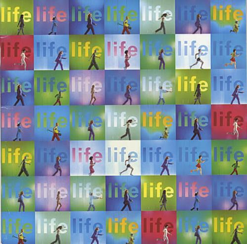 Simply Red Life tour programme UK REDTRLI114023