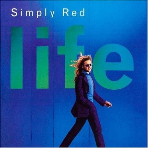 Simply Red Life CD album (CDLP) UK REDCDLI522178