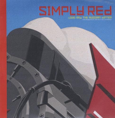 Simply Red Love And The Russian Winter CD-R acetate UK REDCRLO148819