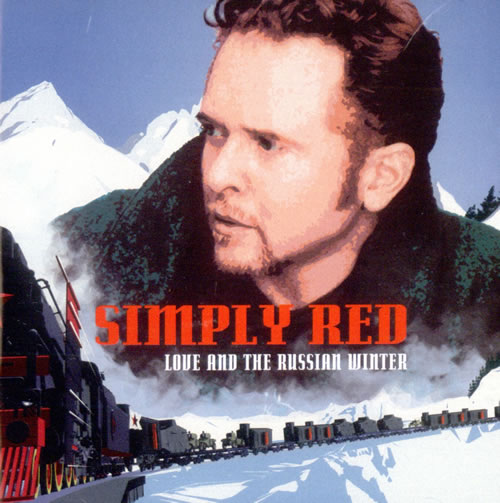Simply Red Love And The Russian Winter CD album (CDLP) UK REDCDLO503686