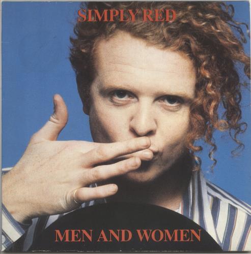 Simply Red Men And Women vinyl LP album (LP record) UK REDLPME285154