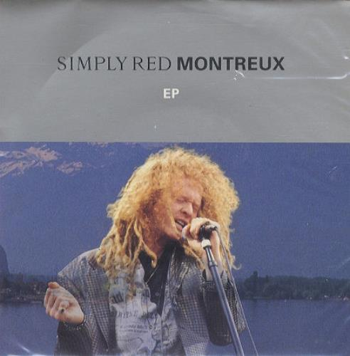"""Simply Red Montreux EP - P/S 7"""" vinyl single (7 inch record) UK RED07MO195573"""