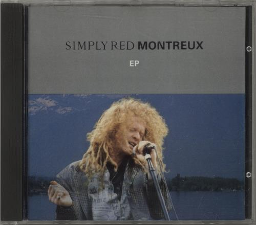 """Simply Red Montreux EP CD single (CD5 / 5"""") UK REDC5MO11265"""