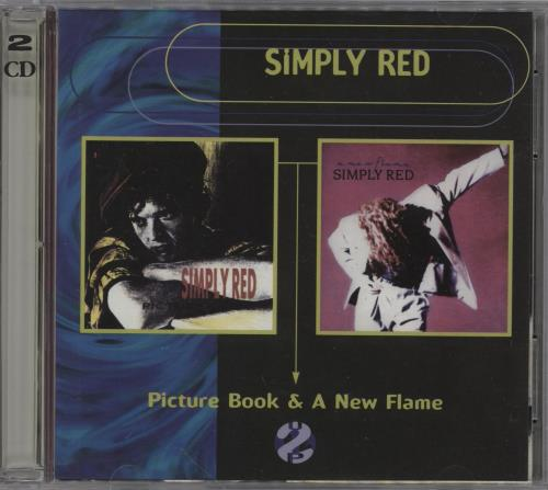Simply Red Picture Book & A New Flame 2 CD album set (Double CD) Australian RED2CPI71725