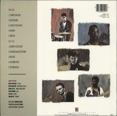 Simply Red Picture Book - Complete - Stickered Sleeve vinyl LP album (LP record) UK REDLPPI710123