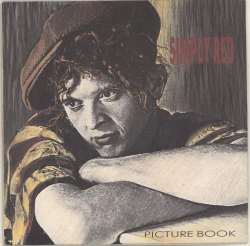 Simply Red Picture Book vinyl LP album (LP record) UK REDLPPI693545