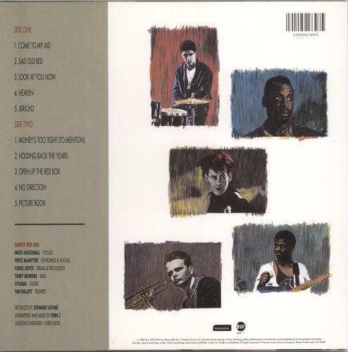 Simply Red Picture Book vinyl LP album (LP record) UK REDLPPI766647