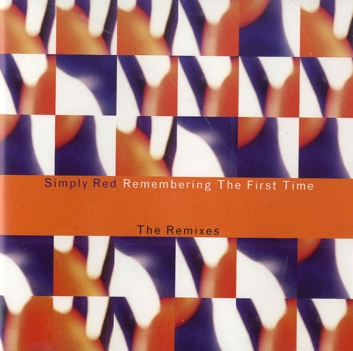 Simply Red Remembering The First Time 2-CD single set (Double CD single) UK RED2SRE485478