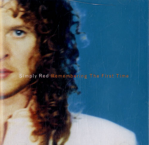 """Simply Red Remembering The First Time CD single (CD5 / 5"""") UK REDC5RE631569"""