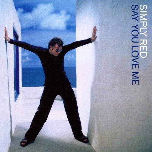 "Simply Red Say You Love Me CD single (CD5 / 5"") UK REDC5SA189973"