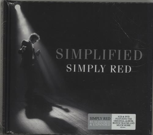 Simply Red Simplified + DVD - Sealed 3-disc CD/DVD Set UK RED3DSI686839
