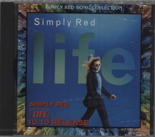 Simply Red Simply Red Song Collection CD album (CDLP) Japanese REDCDSI138780