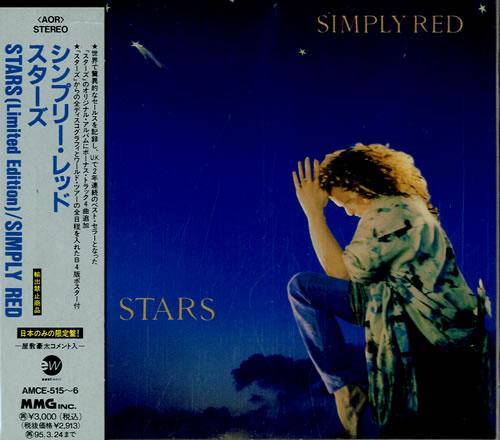 Simply Red Stars + Bonus Disc 2 CD album set (Double CD) Japanese RED2CST216144