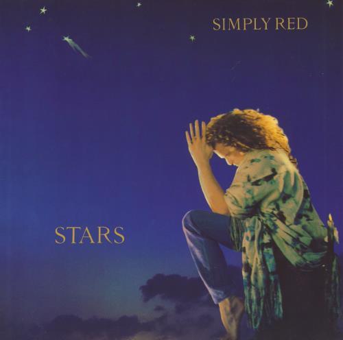 Simply Red Stars - EX vinyl LP album (LP record) UK REDLPST669211
