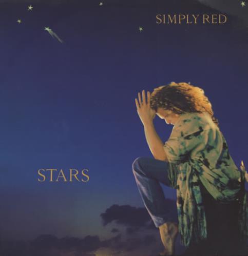 Simply Red Stars vinyl LP album (LP record) UK REDLPST398750