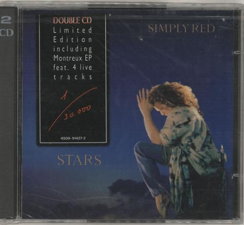 Simply Red Stars/Montrose EP 2 CD album set (Double CD) German RED2CST11097