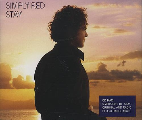 Simply Red Stay CD/DVD single set UK REDSDST401086