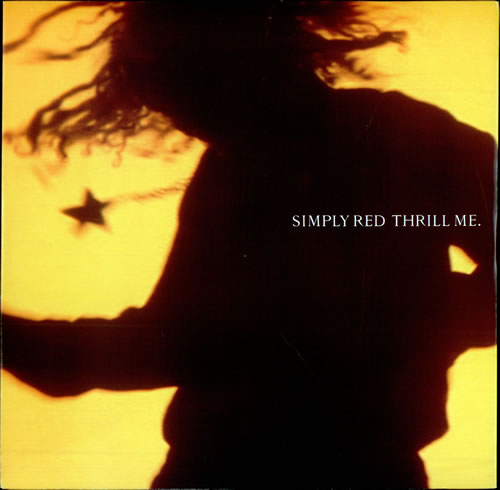 """Simply Red Thrill Me 12"""" vinyl single (12 inch record / Maxi-single) UK RED12TH95889"""