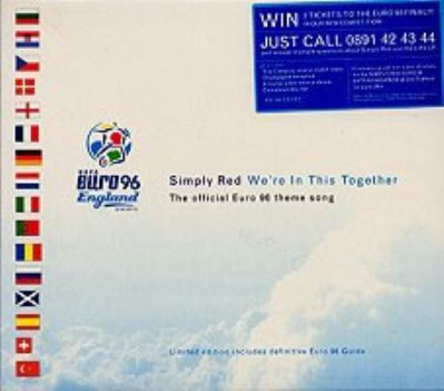"""Simply Red We're In This Together - Inc Guide CD single (CD5 / 5"""") UK REDC5WE76253"""