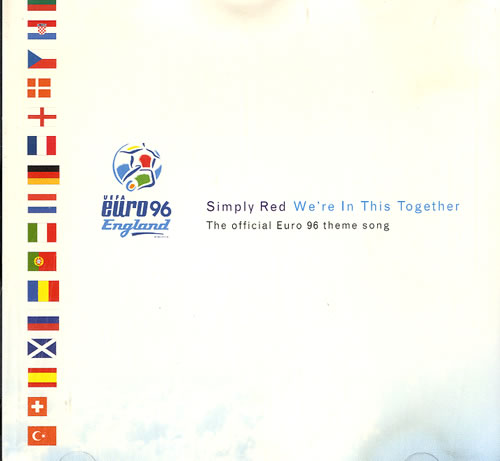 """Simply Red We're In This Together CD single (CD5 / 5"""") UK REDC5WE592592"""