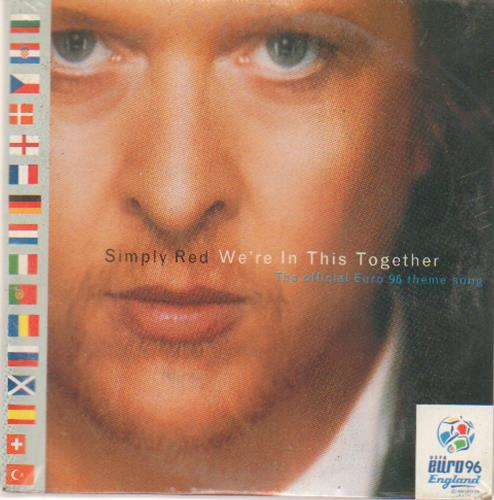"Simply Red We're In This Together CD single (CD5 / 5"") German REDC5WE673665"