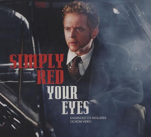 """Simply Red Your Eyes - CD1 CD single (CD5 / 5"""") UK REDC5YO216668"""