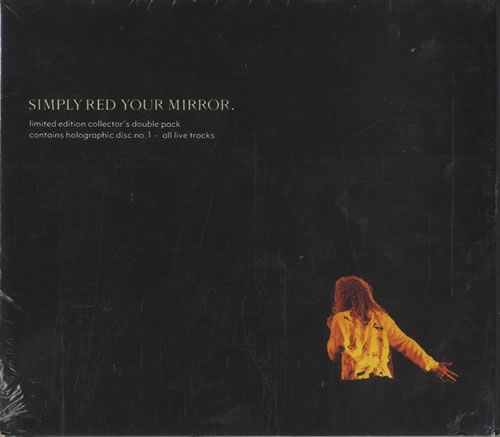 Simply Red Your Mirror - Both Parts 2-CD single set (Double CD single) UK RED2SYO84003
