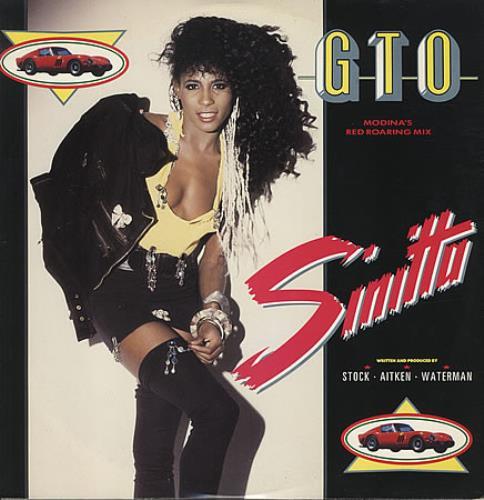 "Sinitta G.T.O - Modina's Red Roaring Mix 12"" vinyl single (12 inch record / Maxi-single) UK SIT12GT44816"