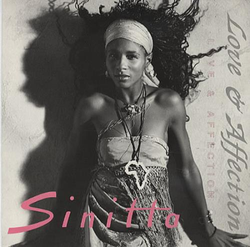 "Sinitta Love & Affection 7"" vinyl single (7 inch record) UK SIT07LO242896"