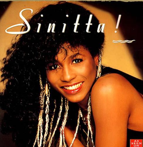 Sinitta Sinitta vinyl LP album (LP record) UK SITLPSI93612