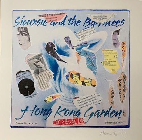 Siouxsie & The Banshees Hong Kong Garden - Punk Art Print artwork UK SIOARHO718878