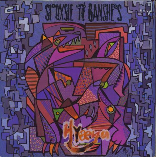 Siouxsie & The Banshees Hyaena - EX vinyl LP album (LP record) UK SIOLPHY738023