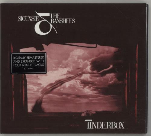 Siouxsie & The Banshees Tinderbox CD album (CDLP) UK SIOCDTI465456
